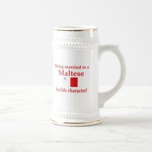Maltese Builds Character Coffee Mugs