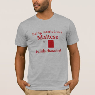 Maltese Builds Character T-Shirt