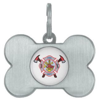 MALTESE CROSS APPLIQUE PET TAG