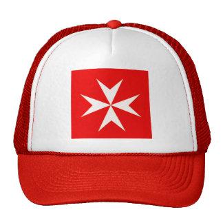 MALTESE CROSS BASEBALL CAP TRUCKER HAT