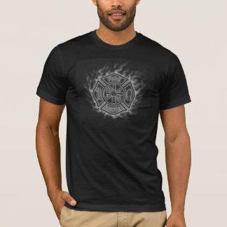 Maltese Cross Fire Fighter T-Shirt