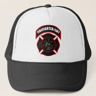 Maltese Cross - Firefighter/EMT Trucker Hat