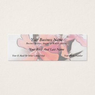 Maltese Cross Flowers Abstract Mini Business Card