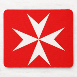 Maltese Cross MOUSE PAD