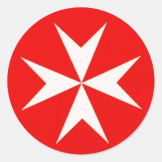 Maltese Cross SKATEBOARD STICKERS