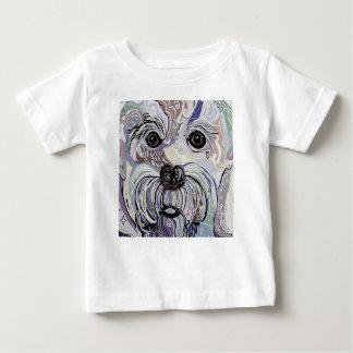 Maltese in Denim Colors Baby T-Shirt