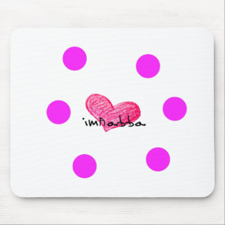 Maltese Language of Love Design Mouse Pad