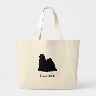 Maltese Large Tote Bag
