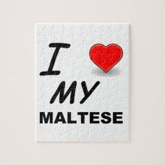 maltese love jigsaw puzzle