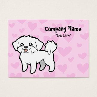 Maltese Love (puppy cut) Business Card