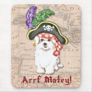 Maltese Pirate Mouse Pad