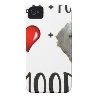 Maltese + Poodle = Moodle Case-Mate iPhone 4 Case