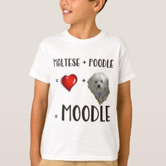 Maltese + Poodle = Moodle T-Shirt