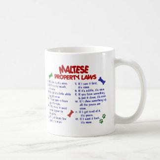MALTESE Property Laws 2 Coffee Mug