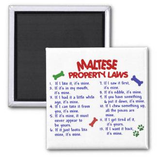 MALTESE Property Laws 2 Magnet