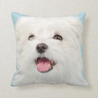 Maltese Puppy Pillow