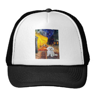 Maltese (R) - Terrace Cafe Trucker Hat