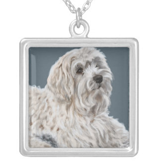 Maltese Silver Plated Necklace