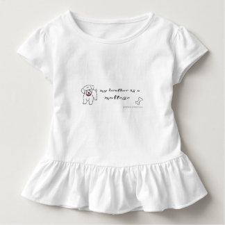 maltese toddler t-shirt
