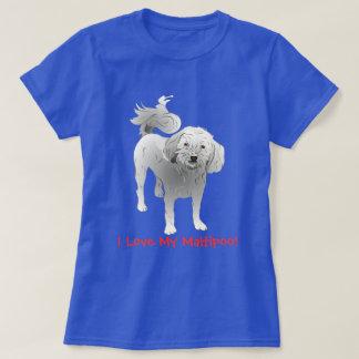 Maltipoo Cute Little White Dog T-Shirt