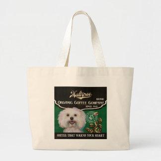 Maltipoo – Organic Coffee Company Tote Bag