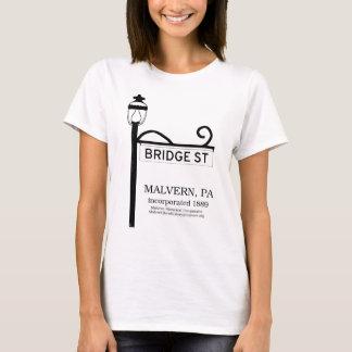 Malvern PA - Bridge Street t-shirt