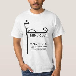 Malvern PA - Miner Street t-shirt