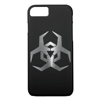 Malware Hazard Symbol iPhone 7 Case