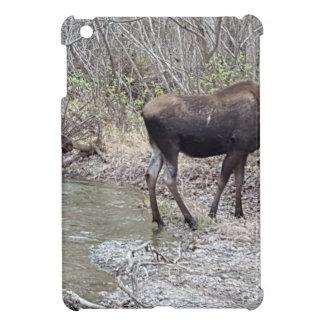 Mama and Baby Moose iPad Mini Cover
