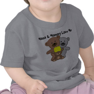 Mama and Mommy Love Me Tee Shirts