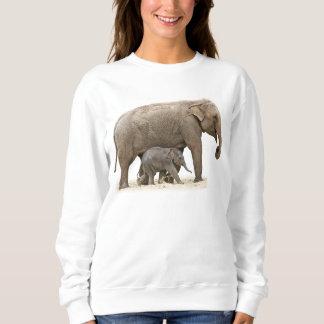 Mama & Baby Elephant Sweatshirt