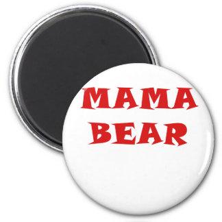 Mama Bear 2 Inch Round Magnet