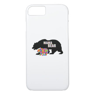 Mama Bear Autism Awareness Suppor iPhone 8/7 Case