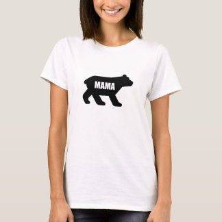 Mama Bear Black T-Shirt