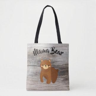 Mama Bear - Large Family Mom Gift Tote Bag