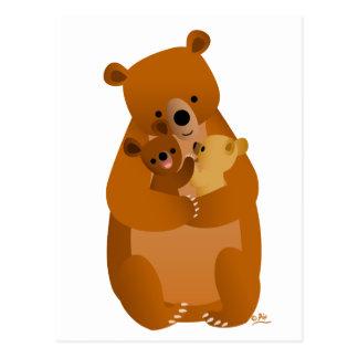 Mama Bear (no background) Postcard