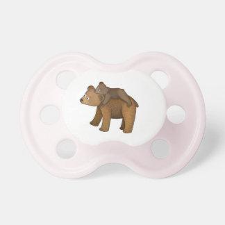 Mama bear pacifier or dummy