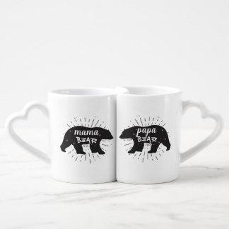 Mama Bear Papa Bear Coffee Mug Set