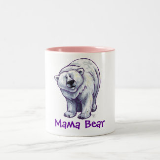 Mama Bear Polar Bear Mug