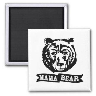 Mama Bear Square Magnet