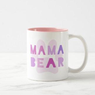 Mama bear Two-Tone mug
