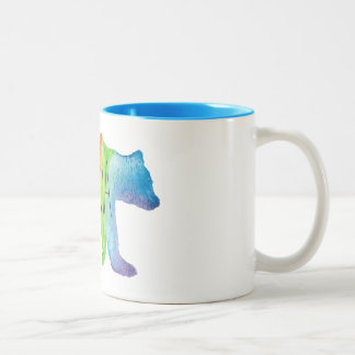 Mama Bear Watercolor Family Pride Mug