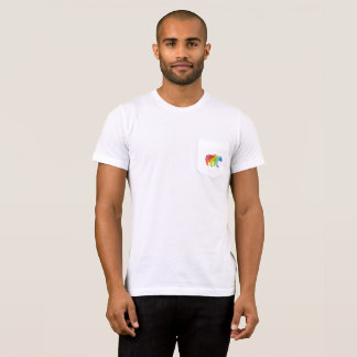 Mama Bear Watercolor Family Pride Pocket Tee