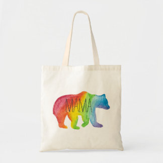 Mama Bear Watercolor Family Pride Tote