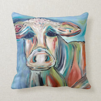 Mama Cow Decorative Pillow