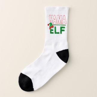 Mama Elf | Christmas Holiday Elf Family Funny | 1