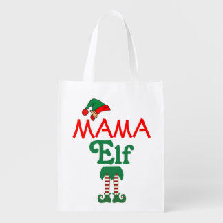 Mama Elf Reusable Grocery Bag