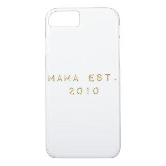 Mama EST 2010 Case-Mate iPhone Case