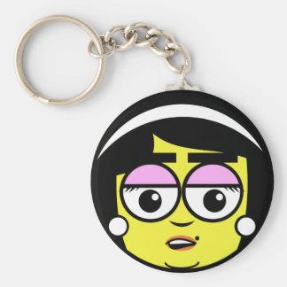 Mama  Face Keychain