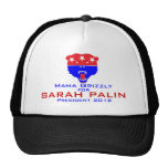 Mama Grizzly for Sarah Palin Trucker Hats